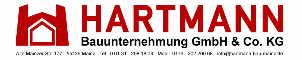 Bauunternehmen Mainz hartmann bauunternehmen